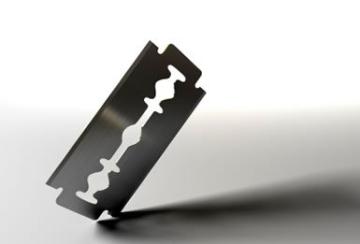 CANDURE - Professionelles Rasiermesser mit gerader Klinge - Traditionelles Rasiermesser + 20 Klingen - 2