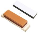 Schleifstein Set bestehend aus Kombi Schleifstein 1000/3000 und Finishing Stone Körnung #8000 - 1