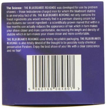 The Bluebeards Revenge Luxury Shaving Cream Tub 100ml - 7